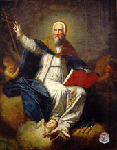 San Sisto II patrono di Caldonazzo (TN) ( Fine ^700)